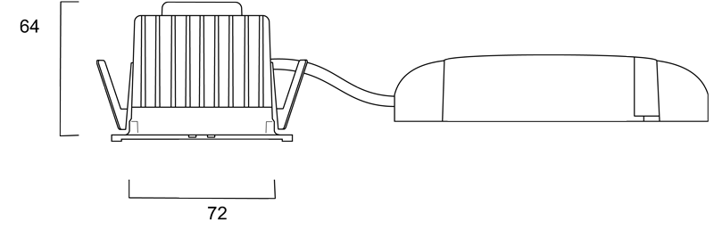 Technical Drawing for 2056407